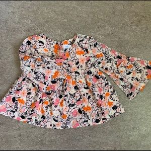 🌸3 for $20🌸 Boho style Baby Gap top
